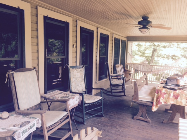 Spend your summer days enjoying the porch!