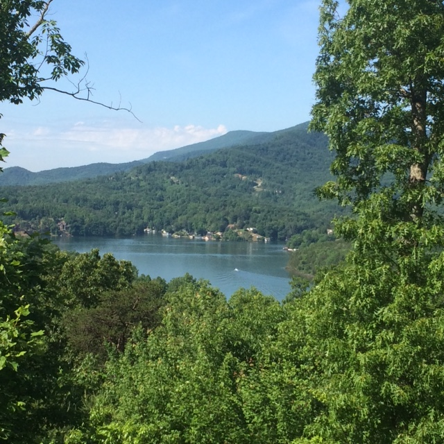 Summertime in Lake Lure
