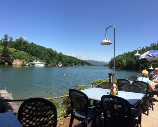 Lunch at Larkin's on the Lake. If you have a boat, you can boat right to the restaurant.