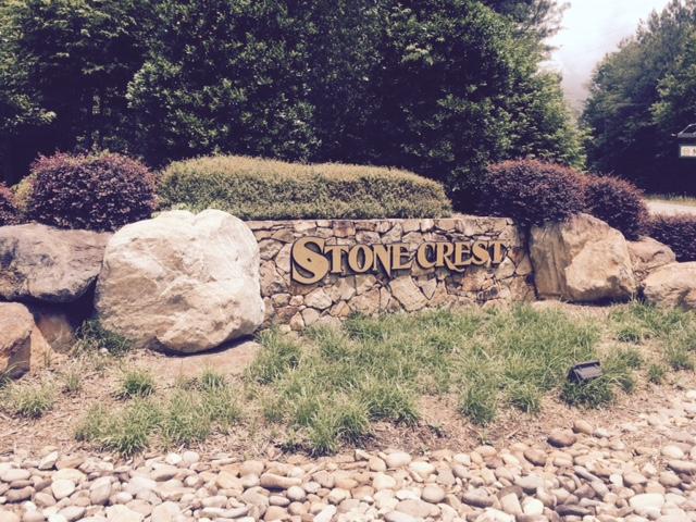 Beautiful entrance to Stonecrest