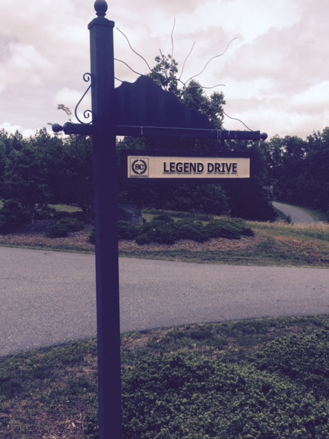 The lot is 11 Legend Drive in Stonecrest at Lake Lure